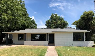 Comanche County Single Family Home For Sale: 801 W Wrights Avenue