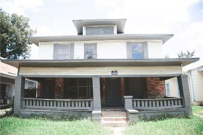 Fort Worth Multi Family Home For Sale: 1725 Alston Avenue