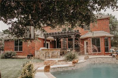 Dallas County, Denton County, Collin County, Cooke County, Grayson County, Jack County, Johnson County, Palo Pinto County, Parker County, Tarrant County, Wise County Single Family Home For Sale: 8391 Navisota Drive