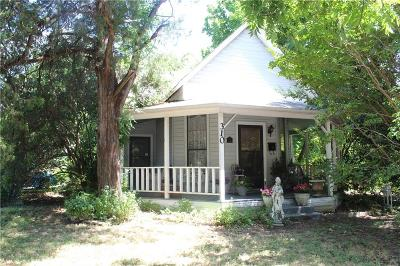 Waxahachie Single Family Home Active Option Contract: 310 Williams Street