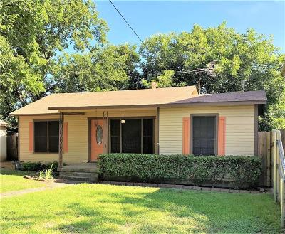 White Settlement Single Family Home Active Option Contract: 8028 Hanon Drive