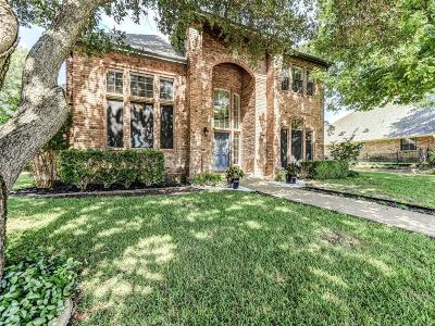 Fort Worth Single Family Home For Sale: 3808 Lost Creek Boulevard