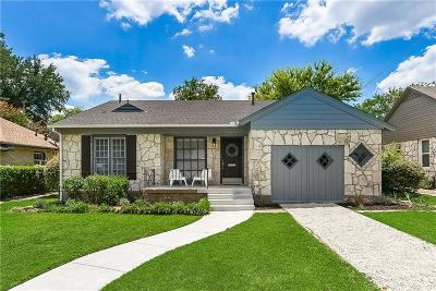 Dallas County, Denton County, Collin County, Cooke County, Grayson County, Jack County, Johnson County, Palo Pinto County, Parker County, Tarrant County, Wise County Single Family Home For Sale: 5820 Palm Lane