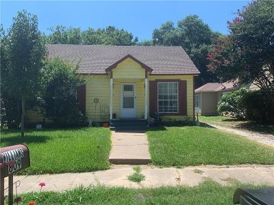 Cooke County Single Family Home Active Option Contract: 809 S Clements Street
