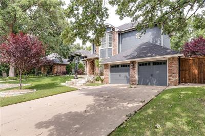 Grapevine Single Family Home For Sale: 1012 Woodbriar Drive