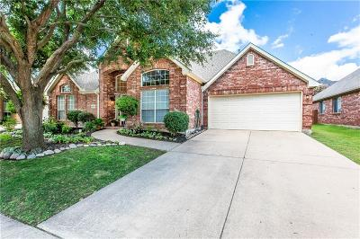 Mckinney Single Family Home Active Option Contract: 8905 Talon Court