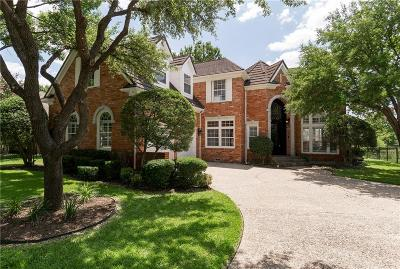 Irving Single Family Home Active Contingent: 7513 Primrose Drive
