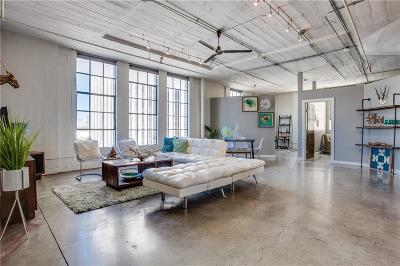 Dallas Condo For Sale: 1122 Jackson Street #513