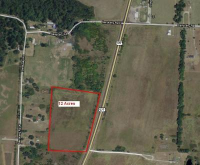 Grayson County Farm & Ranch For Sale: 0000 Us Hwy 377