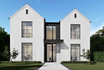 Dallas County Single Family Home For Sale: 5723 W Hanover Avenue