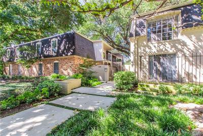Dallas Condo For Sale: 5305 Fleetwood Oaks Avenue #275
