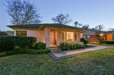 Dallas Single Family Home For Sale: 4132 Saranac Drive
