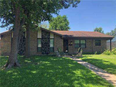 Garland Single Family Home For Sale: 1021 Brookshire Circle