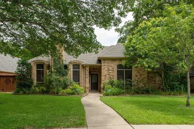 Grapevine Single Family Home Active Option Contract: 2904 Ridgerow Drive