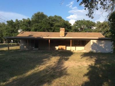 Brownwood, May, Lake Brownwood Single Family Home For Sale: 4410 Fm 3021