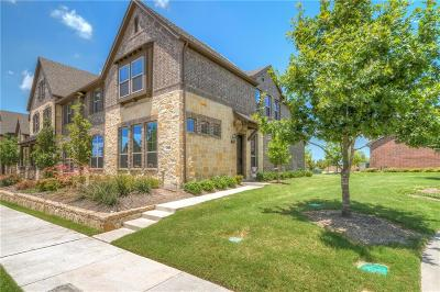 McKinney Townhouse For Sale: 7100 Chief Spotted Tail Drive