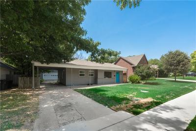 Fort Worth Residential Lease For Lease: 3813 Bryce Avenue