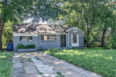 Dallas Single Family Home For Sale: 2624 Bowling Green Avenue