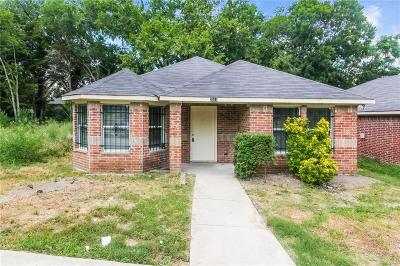 Dallas Single Family Home For Sale: 2519 Kirkley Street