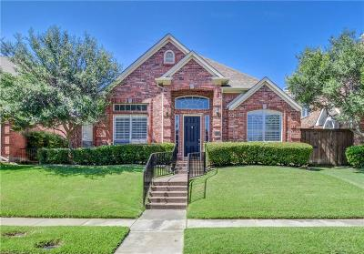 Plano TX Single Family Home Active Option Contract: $422,000