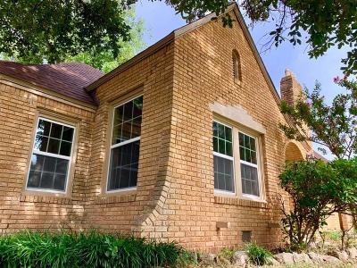 Abilene Single Family Home Active Option Contract: 1809 Belmont Boulevard