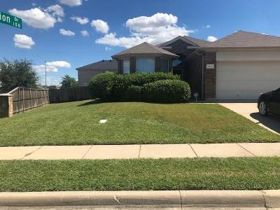Fort Worth Single Family Home For Sale: 9601 Minton Drive