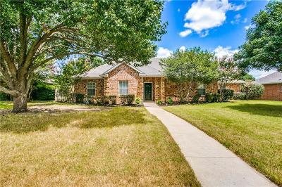 Sachse Single Family Home For Sale: 4409 Briarcrest Lane