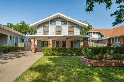 Fort Worth Single Family Home For Sale: 2012 Hurley Avenue