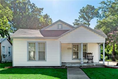 Fort Worth Single Family Home For Sale: 1820 Robinwood Drive