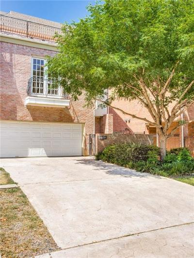 Dallas County Townhouse For Sale: 5713 Lewis Street