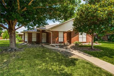 Sachse Single Family Home Active Option Contract: 2311 Ridgeview Drive