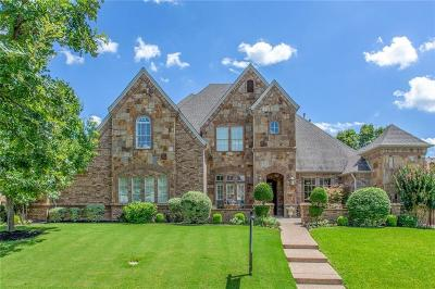 Dallas County, Denton County, Collin County, Cooke County, Grayson County, Jack County, Johnson County, Palo Pinto County, Parker County, Tarrant County, Wise County Single Family Home For Sale: 701 Castle Rock Drive