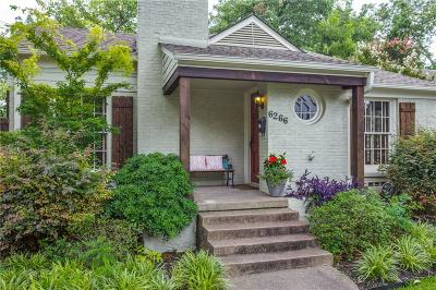 Single Family Home For Sale: 6266 Malcolm Drive