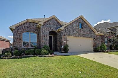 Sachse Single Family Home Active Contingent: 3311 Tack Lane