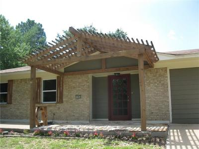Canton TX Single Family Home Active Option Contract: $155,000
