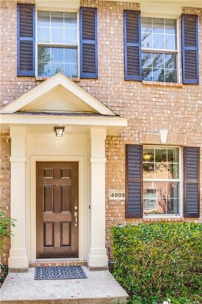 McKinney Townhouse For Sale: 4805 Stone Gate Trail