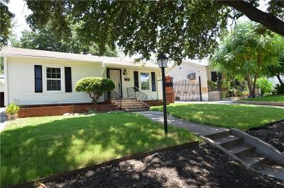 Fort Worth TX Single Family Home For Sale: $158,000