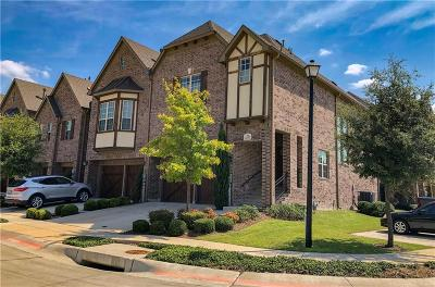 Lewisville Townhouse For Sale: 2671 Nottingham Drive