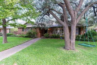 Dallas County Single Family Home For Sale: 9826 Faircrest Drive