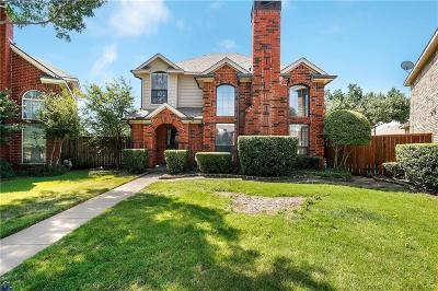 Coppell Single Family Home Active Option Contract: 825 Ashford Drive