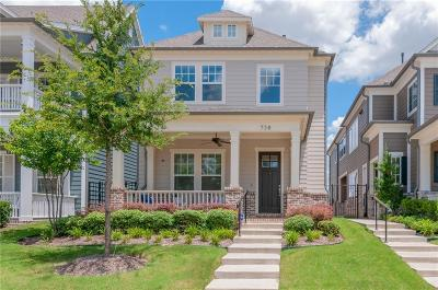 Coppell Single Family Home For Sale: 738 Hammond Street