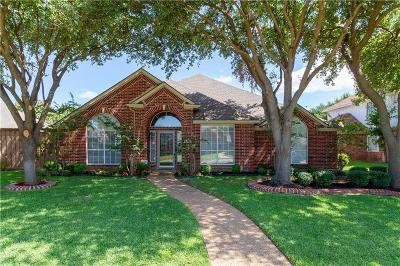 Plano TX Single Family Home Active Option Contract: $374,900