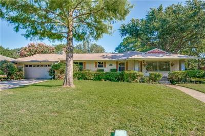 Dallas Single Family Home For Sale: 611 Woolsey Drive