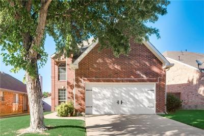 Lewisville Single Family Home Active Option Contract: 921 Winterstone Drive