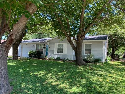 Euless Single Family Home Active Option Contract: 108 Tarrant Drive