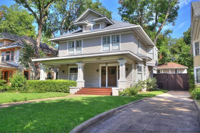 Dallas Single Family Home For Sale: 4909 Victor Street
