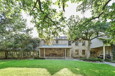 Argyle Single Family Home Active Option Contract: 1607 E Hickory Hill Road
