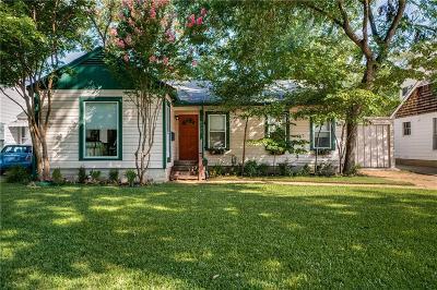 Dallas Single Family Home For Sale: 8723 San Fernando Way