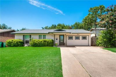 Lewisville Single Family Home Active Option Contract: 176 Price Drive