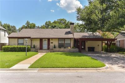 Fort Worth Single Family Home For Sale: 3715 Shelby Drive
